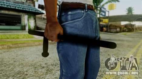 Police Baton from Silent Hill Downpour v2 para GTA San Andreas tercera pantalla