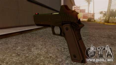 Heavy Pistol GTA 5 para GTA San Andreas segunda pantalla