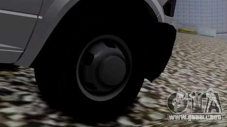 Dodge Ram 3500 2010 para GTA San Andreas vista posterior izquierda