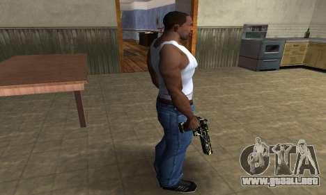 Deagle Camo para GTA San Andreas tercera pantalla