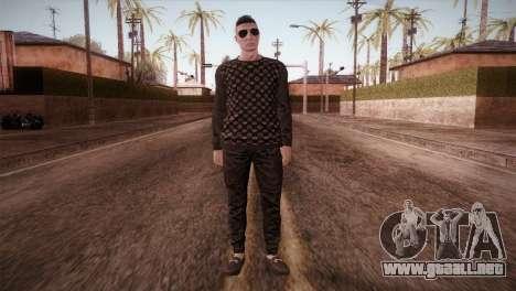 Skin1 from DLC Gotten Gaings para GTA San Andreas segunda pantalla