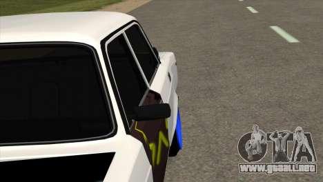 VAZ 2105 AC v1.0 para GTA San Andreas vista hacia atrás