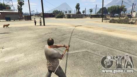 GTA 5 Katana v2.0 tercera captura de pantalla