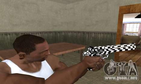 Math Deagle para GTA San Andreas tercera pantalla