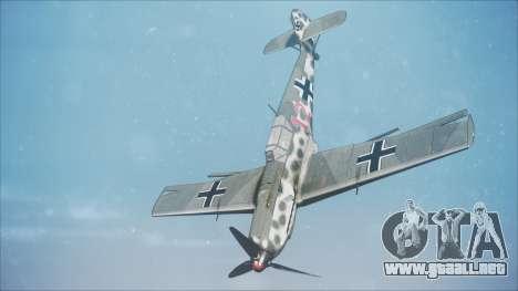 Messerschmitt BF-109 E-4 IJAAF para GTA San Andreas