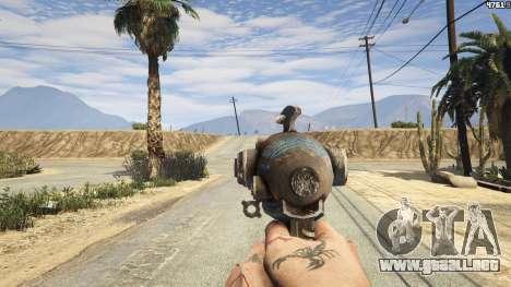 GTA 5 Fallout 3: Alien Blaster segunda captura de pantalla