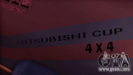 Sandking Mitsubishi Cup para la visión correcta GTA San Andreas