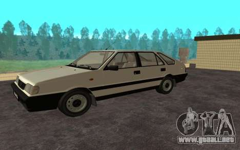 Daewoo FSO Polonez Caro Plus para GTA San Andreas vista posterior izquierda