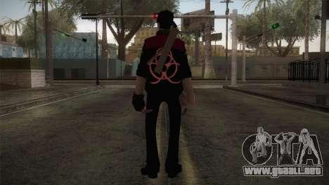 Christian Brutal Sniper from TF2 para GTA San Andreas tercera pantalla