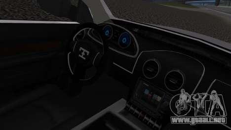 Dodge Ram 3500 2010 para la visión correcta GTA San Andreas