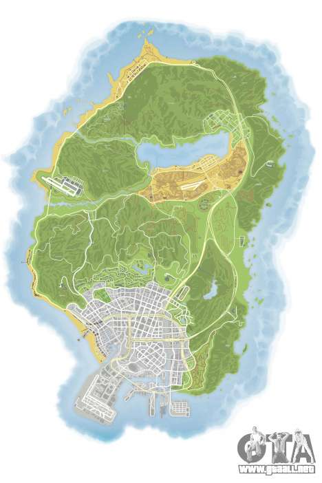 GTA 5 Mapa de Color v0.2 segunda captura de pantalla