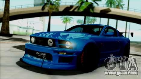 Ford Mustang GT Modification para GTA San Andreas