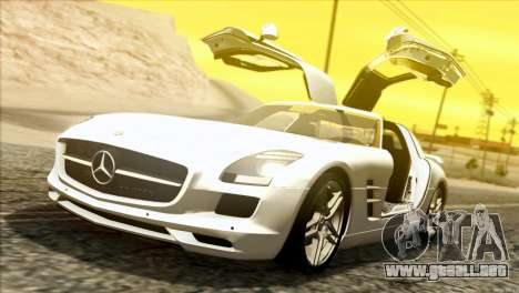 Mercedes-Benz SLS AMG 2013 para GTA San Andreas left