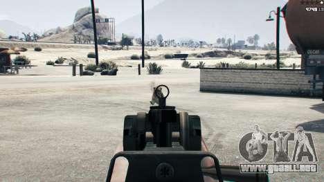 GTA 5 Battlefield 4 CZ805 sexta captura de pantalla