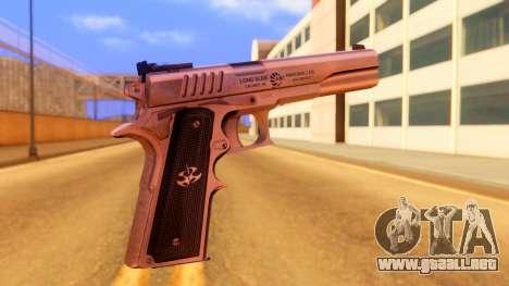 Atmosphere Pistol para GTA San Andreas segunda pantalla