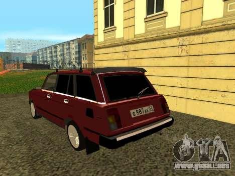 VAZ 21047 para la visión correcta GTA San Andreas