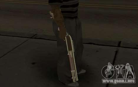 Weapon Pack para GTA San Andreas segunda pantalla