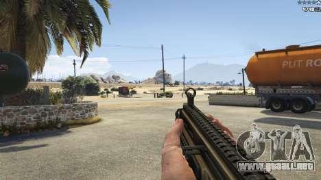 GTA 5 Battlefield 4 CZ805 quinta captura de pantalla