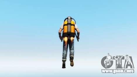 Jetpack v1.0.1 para GTA 5