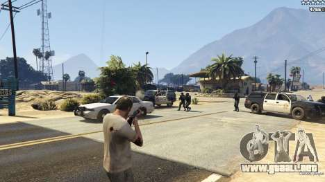GTA 5 Powerful Shotguns [.NET] 0.2 sexta captura de pantalla