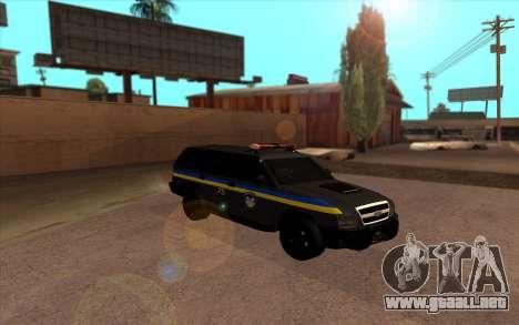 Chevrolet Blazer Berkut para GTA San Andreas