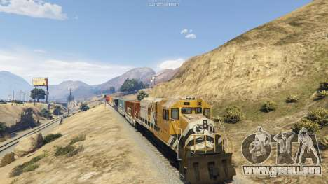 GTA 5 Railroad Engineer 3 segunda captura de pantalla