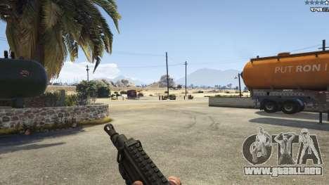 GTA 5 Battlefield 4 CZ805 cuarto captura de pantalla