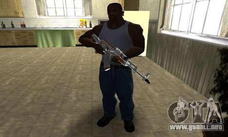 AK-47 Asiimov para GTA San Andreas tercera pantalla