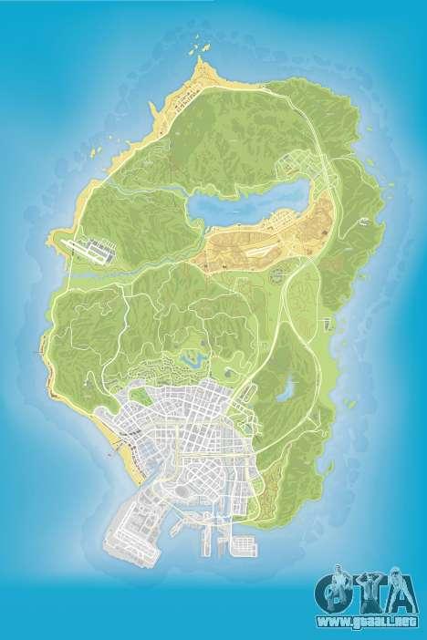 GTA 5 Mapa de Color v0.2