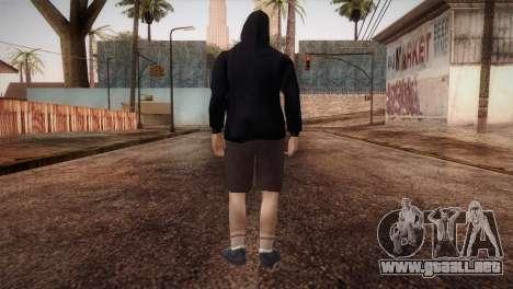 Mercenario de la mafia en la capucha y la máscar para GTA San Andreas tercera pantalla