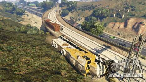 GTA 5 Railroad Engineer 3