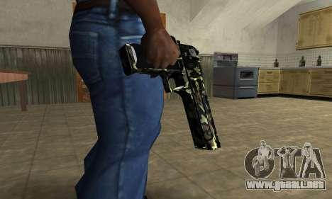 Deagle Camo para GTA San Andreas