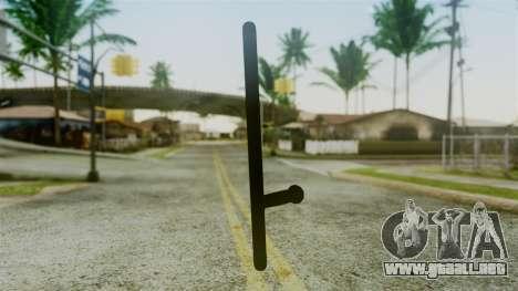 Police Baton from Silent Hill Downpour v2 para GTA San Andreas segunda pantalla