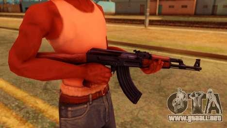 Atmosphere AK47 para GTA San Andreas tercera pantalla