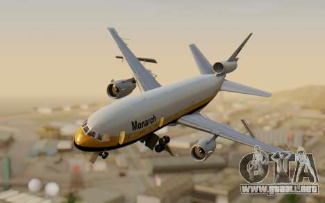 DC-10-30 Monarch Airlines para GTA San Andreas
