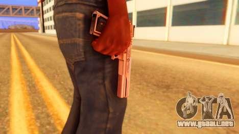 Atmosphere Pistol para GTA San Andreas tercera pantalla
