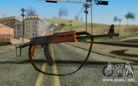 AK-47S with Strap para GTA San Andreas