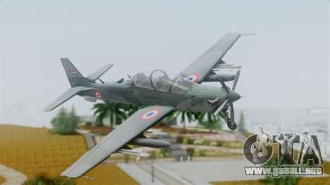 Embraer EMB-314 Super Tucano (FAP) para GTA San Andreas