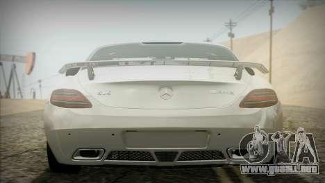 Mercedes-Benz SLS AMG 2013 para GTA San Andreas vista hacia atrás