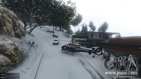 GTA 5 Singleplayer Snow 2.1 segunda captura de pantalla