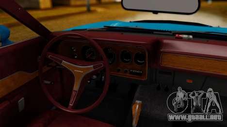 Dodge Charger Super Bee 426 Hemi (WS23) 1971 IVF para la visión correcta GTA San Andreas