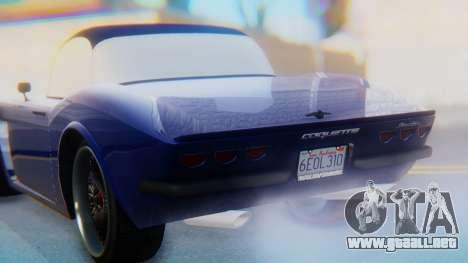 Invetero Coquette BlackFin v2 GTA 5 Plate para el motor de GTA San Andreas