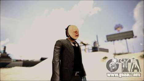 ENBTI for High PC para GTA San Andreas sucesivamente de pantalla