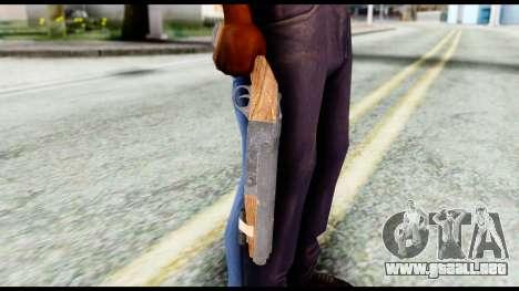 Shotgun from Resident Evil 6 para GTA San Andreas tercera pantalla