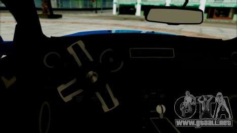Ford Mustang GT Modification para GTA San Andreas vista posterior izquierda