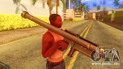 Atmosphere Stinger para GTA San Andreas tercera pantalla