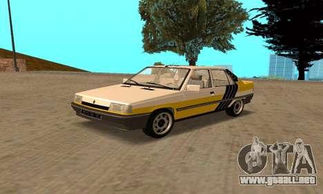 Renault 9 TSE 1992 para GTA San Andreas interior