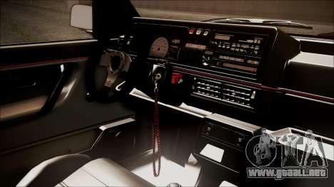 Volkswagen Golf Mk2 Schmidt TH Line para la visión correcta GTA San Andreas
