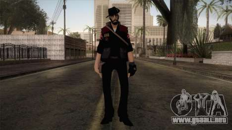 Christian Brutal Sniper from TF2 para GTA San Andreas segunda pantalla