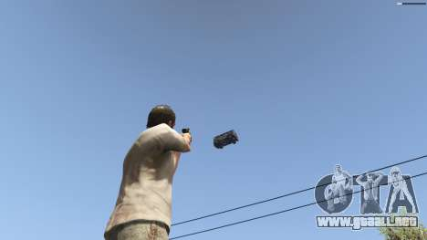 GTA 5 Gravity Gun 1.5 octavo captura de pantalla
